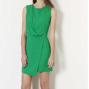 TOPSHOP | sleeveless formal drape dress